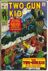 Two-Gun Kid  #93 1970-Marvel-Dick Ayers-1st issue after 1970 resumption-FN+