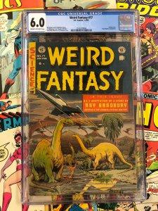 Weird Fantasy #17 CGC 6.0 ray bradbury E.C. Comics 1953 golden age SCI-Fi wood
