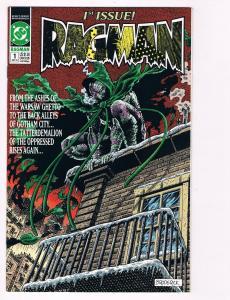 Ragman # 1 DC Comic Books Gotham City Warsaw Ghetto Batman Superman!!!!!!!!! S50