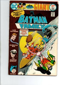 Batman Family #4 - Batgirl - Robin - 1975 - Fine