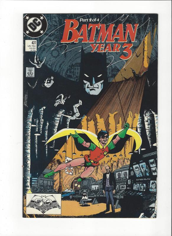 Batman #437 Year 3  VF/NM