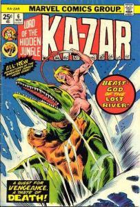 Ka-Zar (1974 series) #6, VF (Stock photo)