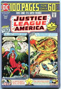 JUSTICE LEAGUE OF AMERICA #115 1975-100 PAGE ISSUE -JLA FN/VF