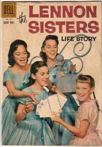 LENNON SISTERS #951 (#1)-1958-ALEX TOTH ART VG