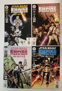 Star Wars The Empire Strikes Back: Infinities  #1-4 Complete Set Dark Horse VF+