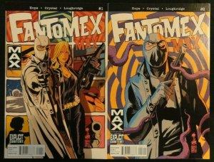 Fantomex Max #1-4 Complete Set Lot of 4 X-Men 1 2 3 4 NM