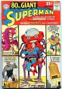 80 Page Giant #6 1965-Superman- Bizarro- Lois Lane- VG