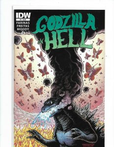 Godzilla in Hell #3 VF/NM 2015 IDW Comics Moody Design Works 1st print nw125