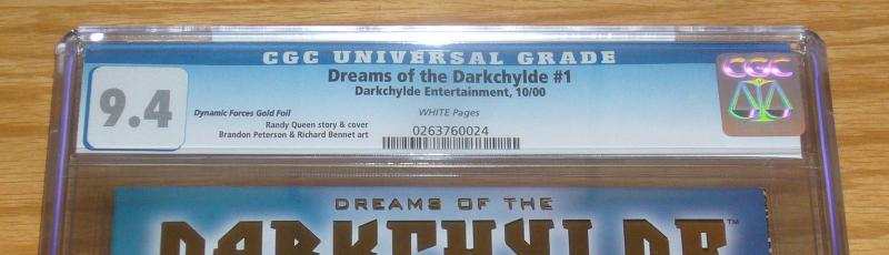 Dreams of the Darkchylde #1 CGC 9.4 dynamic forces gold foil variant w/COA
