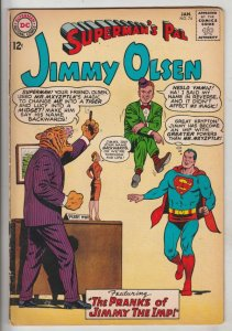 Jimmy Olsen, Superman's Pal  #74 (Jan-64) FN/VF+ High-Grade Jimmy Olsen