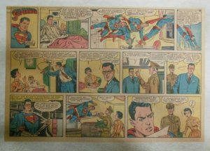 Superman Sunday Page #1042 by Wayne Boring from 10/18/1959 Half Full Page Size