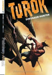 Turok: Dinosaur Hunter (Dynamite, Vol. 1) #7C VF; Dynamite | save on shipping -