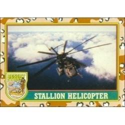 1991 Topps Desert Storm STALLION HELICOPTER #8