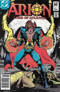 Arion, Lord of Atlantis #1 (Newsstand) FN; DC | save on shipping - details insid