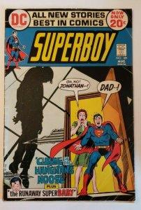 Superboy #189 (1972) The Curse of the Hangman's Noose! GD/VG 3.0
