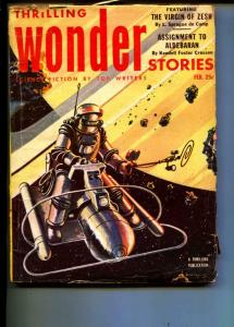 Thrilling Wonder Stories-Pulp-2/1953-Julian May-L. Sprague de Camp