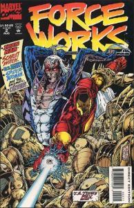 Marvel FORCE WORKS #2 NM