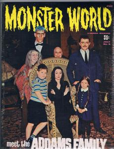 Famous Monsters Of Filmland # 49 + Monster World # 9 POLY SEALED 2 PACK RARE J70