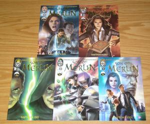 Heroes and Villains Presents Son of Merlin #1-5 VF/NM complete series - set lot