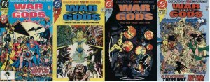 WAR OF THE GODS (1991) 1-4  COMPLETE W/POSTERS!