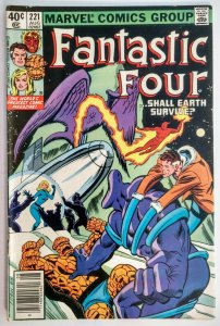 Fantastic Four #221 MARK JEWELERS VARIANT