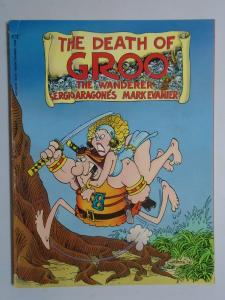 Death of Groo the Wanderer #1 - GN - 8.0? - 1987