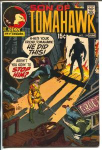 Tomahawk  #134 1970-DC-Son of Tomahawk-Kubert-Firehair-VF+