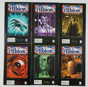 Albion #1-6 VF/NM complete series - alan moore - wildstorm comics set 2 3 4 5