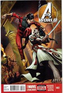 Avengers World #3 Jonathan Hickman Shang-Chi NM