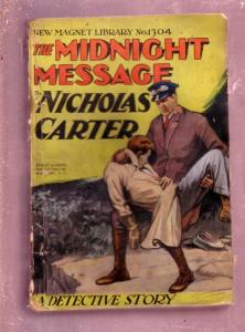 NEW MAGNET LIBRARY-#1304-MIDNIGHT MESSAGE-NICK CARTER FR