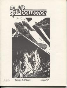 Pulp Collector #17 1990-Terence X. O'Leary checklist-50 rarest pulps-FN/VF