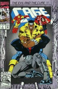 Cage (1992 series) #7, NM- (Stock photo)
