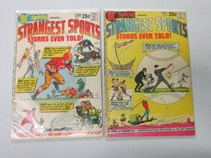 DC Strangest Sports  #7,9 4.0 VG (1970)
