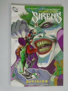 Gotham City Sirens Division TPB SC 8.0 VF (2012)