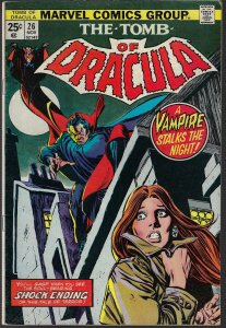 Tomb of Dracula #26 (Marvel, 1974) F-