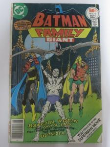 BATMAN FAMILY 13 VG Sept. 1977
