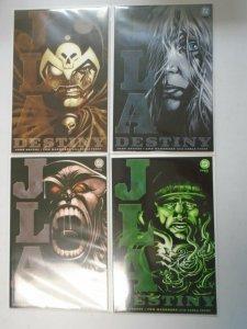 JLA Destiny set #1-4 8.0 VF (2002)