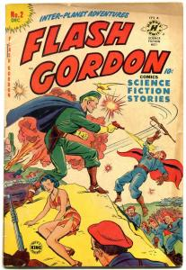 Flash Gordon #2 1950- Harvey Golden Age- VG+