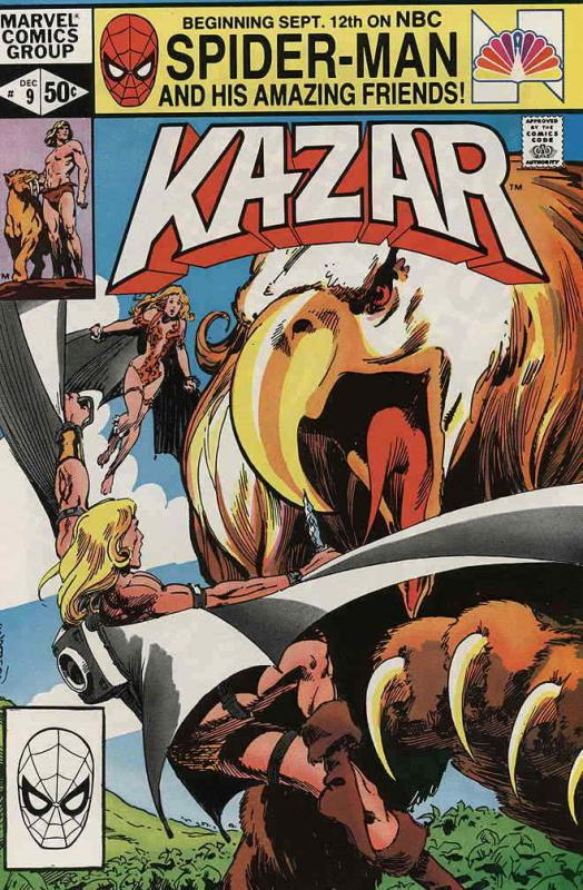 Ka-Zar the Savage #9 FN; Marvel | save on shipping - details inside