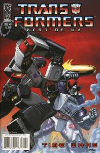 Transformers, The: Best of UK: Time Wars #1A VF/NM; IDW | save on shipping - det