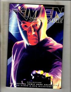 MAGNETO X-Men The Movie Marvel Comics TPB Graphic Novel Comic Book Rogue J352