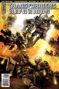 Transformers: Nefarious #1, NM (Stock photo)