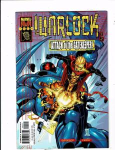 Lot of 2 Warlock Marvel Comic Books #2 3 BH51