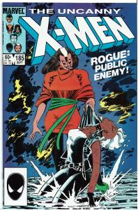 X-Men #185, 9.0 or better