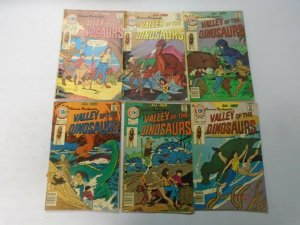 Valley of the Dinosaurs lot 6 different from #1-7 4.0 VG (1975-76 Charlton)