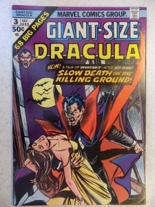 GIANT-SIZE DRACULA # 3 MARVEL BRONZE HORROR
