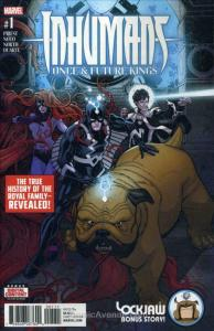 Inhumans: Once and Future Kings #1 VF/NM; Marvel   save on shipping - details in