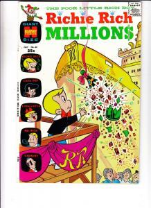 Richie Rich Millions #42 (Jul-70) VF/NM High-Grade Richie Rich