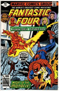 FANTASTIC FOUR #207, NM-, vs Human Torch, 1961 1979, Marvel, more FF in store