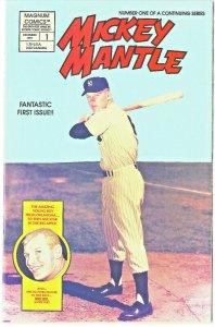 Mickey Mantle #1 - Magnum Comics